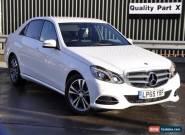 2016 Mercedes-Benz E Class 2.1 E220 CDI BlueTEC SE 7G-Tronic Plus 4dr for Sale