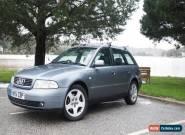 Audi A4 Avant 1.9 TDI Estate 2001 Grey for Sale