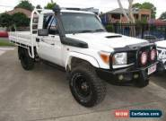 2012 Toyota Landcruiser VDJ79R MY12 Update GX (4x4) White Manual 5sp M for Sale
