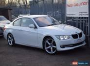 2010 BMW 3 Series 320 Coupe 2.0d 184 SE St6 Diesel white Automatic for Sale