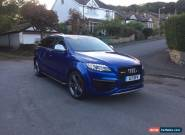 AUDI Q7 3.0 TDI QUATTRO S LINE AUTO SEPANG BLUE FULL V12 W12 RSQ7 BODYKIT MAY PX for Sale