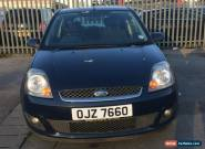 L@@K 2009 FORD FIESTA ZETEC CLIMATE 1.4  TDCI BLUE.SPARES OR REPAIRS.DRIVE AWAY. for Sale