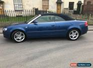 Audi A4 2.0T Sport Cabriolet for Sale