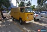 Classic Vw 1976 PMG panel van for Sale
