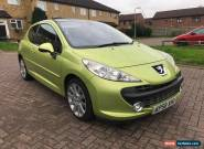 2008 Peugeot 207 1.6HDI 110 GT - 10 SERVICES STAMPS - MOT 06/2018 for Sale