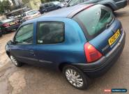 1999 RENAULT CLIO PETROL CLOTH STEREO NO MOT, DROVE IN TO US, AS PART EXCHANGE for Sale