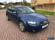 2004 Audi A3 SPORT - 12  SERVICES STAMPS - MOT 25/09/2018 for Sale