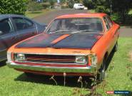 1971 VH Valiant Pacer hemi orange classic car like Charger R/T for Sale