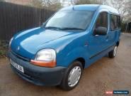 Renault Kangoo 1.9 diesel Disabled Wheel chair access ramp for Sale