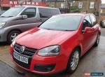 Volkswagen 2008 Golf 2.0TDI 2007MY GT Red Diesel Manual 6 Months warranty for Sale