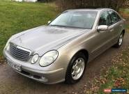 Mercedes-Benz E320 AUTO, 2003 53 in Cubanite Silver / Grey Leather for Sale