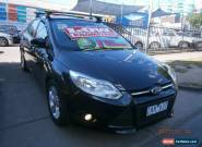 2011 Ford Focus LW Trend Black Automatic 6sp A Hatchback for Sale