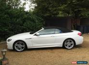 BMW 640D CONVERTIBLE M SPORT  for Sale