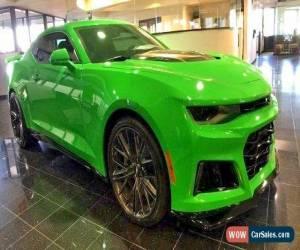 Classic 2017 Chevrolet Camaro ZL1 for Sale