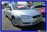 Classic 2006 Ford Focus LS LX Silver Automatic 4sp A Hatchback for Sale