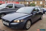 Classic Volvo S40 2.0D 2005MY  4dr 1 Owner FSH VGC Free Warranty Full service history for Sale