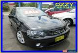 Classic 2006 Ford Falcon BF XR6 Black Automatic 6sp A Sedan for Sale