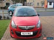 2014 VAUXHALL CORSA LIMITED EDITION for Sale