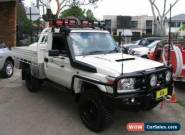 2011 Toyota Landcruiser VDJ79R 09 Upgrade GX (4x4) White Manual 5sp M for Sale