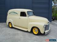 1953 CHEVROLET 3100 PANEL TRUCK, 350 V8 AUTO, A/C, MUSTANG II IFS - PICKUP FORD for Sale