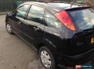2001 FORD FOCUS CL TD DI BLACK for Sale