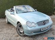 2004 Mercedes-Benz CLK 320 3.2 AUTO Elegance - Leather / Nav / Cruise / History for Sale