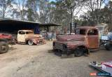 Classic Ford 1948,1949,1950 RHD Aussie truck cab and front end Sydney Pick Up No reserve for Sale