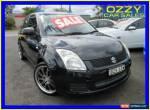 2009 Suzuki Swift EZ 07 Update Black Automatic 4sp A Hatchback for Sale