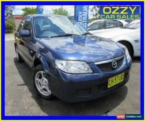 Classic 2001 Mazda 323 Protege Blue Automatic 4sp A Sedan for Sale