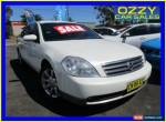 2005 Nissan Maxima J31 ST-L White Automatic 4sp A Sedan for Sale