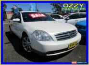 2005 Nissan Maxima J31 ST-L White Automatic 4sp A Sedan for Sale