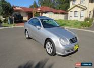 2005 Mercedes Benz CLK200K Kompressor 2Dr Coupe 5Spd Steptronic 1.8L Supercharge for Sale