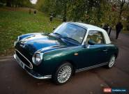 1991 NISSAN FIGARO FULLY RESTORED IN BRITISH RACING GREEN  for Sale