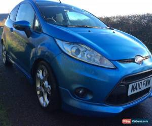 Classic 2010 Ford Fiesta Zetec S, Damaged, Repairable, Salvage, Spares or Repair for Sale