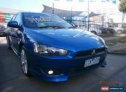 2009 Mitsubishi Lancer CJ MY09 VR-X Sportback Royal Blue Automatic 6sp A for Sale