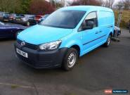 2011 VOLKSWAGEN CADDY MAXI C20 TDI MAXI ** EXTRA LONG - FULL FITTED (+ VAT) ** V for Sale