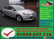 Ford Focus 1.6 TI-VCT ( 125ps ) Zetec GUARANTEED CAR FINANCE for Sale