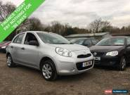 2011 11 NISSAN MICRA 1.2 VISIA 5DR 79 BHP for Sale