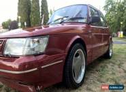 1988 SAAB 900 AERO CLASSIC 16S TURBO / CHERRY RED / CARLSSON for Sale