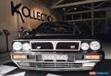 Classic 1989 LANCIA DELTA INTEGRALE, Diamond Black, 16 valve, Fully Registered.  for Sale