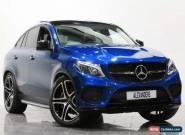 2017 Mercedes-Benz Gle Coupe GLE 43 4Matic Premium Plus 9G-Tronic Petrol blue Au for Sale