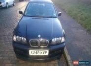 2000 BMW 318I SE BLUE for Sale