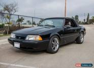 1989 Ford Mustang LX 2DR CONVERTIBLE for Sale