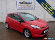 2011 11 FORD FIESTA 1.2 EDGE CODE RED 3D 81 BHP for Sale