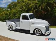 """1949 CHEVROLET 3100 PICKUP, 350 V8, A/C, MUSTANG II IFS, 9"""", TRUCK UTE FORD F100 for Sale"""