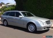 Mercedes E320 Wagon for Sale