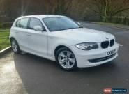 2011 BMW 1 SERIES 116D SE HATCHBACK DIESEL for Sale