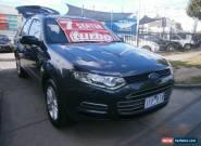 2011 Ford Territory SZ TX (RWD) Grey Automatic 6sp A Wagon for Sale
