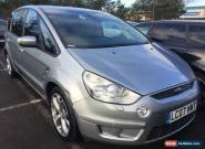 07 FORD S-MAX 2.0 TDCI TITANIUM 7 SEATS,SAT NAV,LEATHER.PAN GLASS ROOF PRIVACY, for Sale