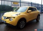 2014 Nissan Juke 1.5dCi ( 110ps ) Tekna,SatNav,Full Leather,Alloys,History for Sale
